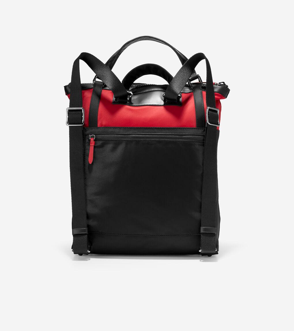 WOMENS Nylon Convertible Backpack