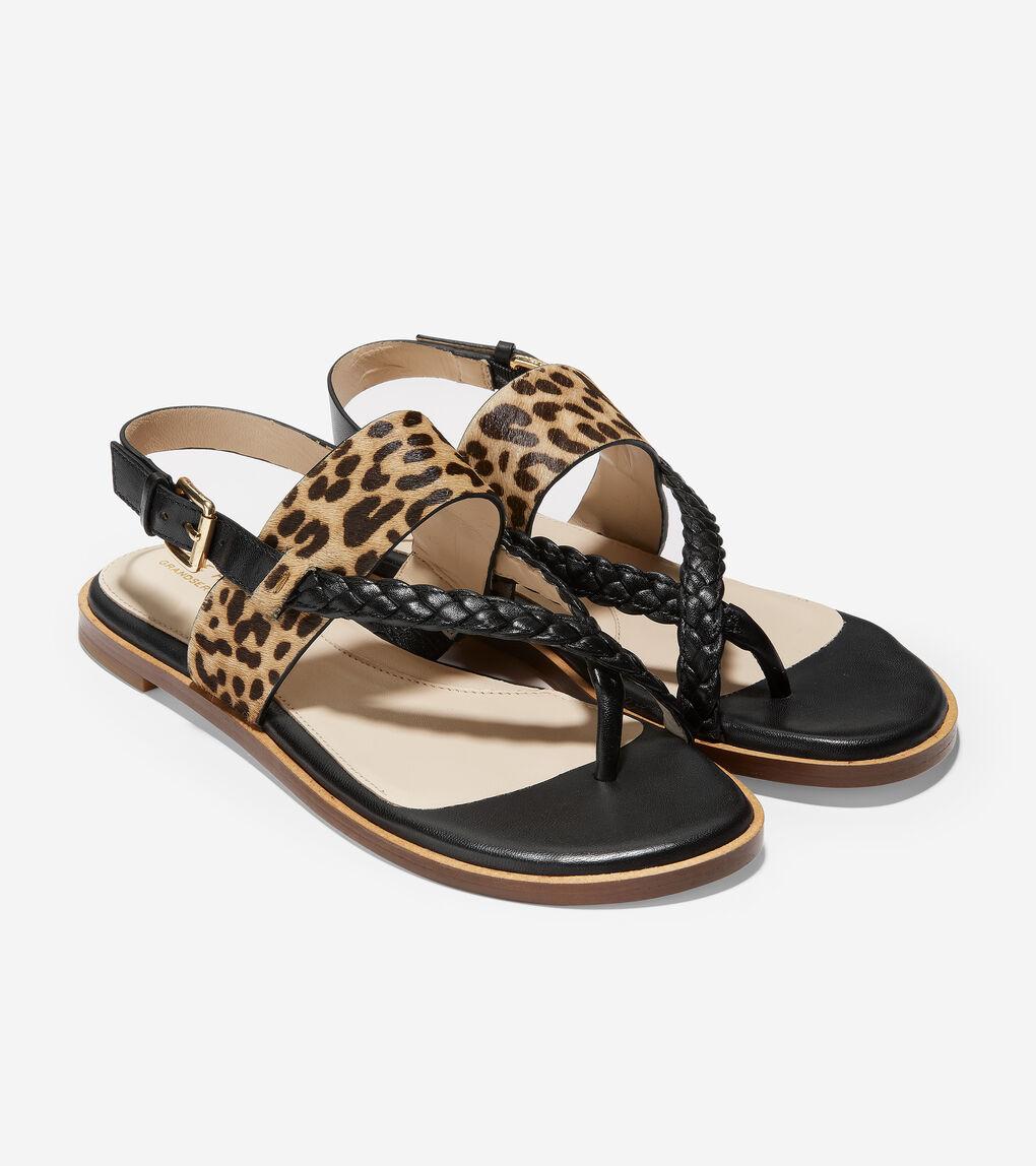 WOMENS Anica Braided Thong Sandal