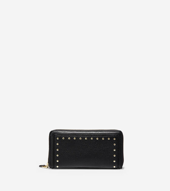 a47125c095f2 Women s Cassidy Continental Wallet in Black Leather