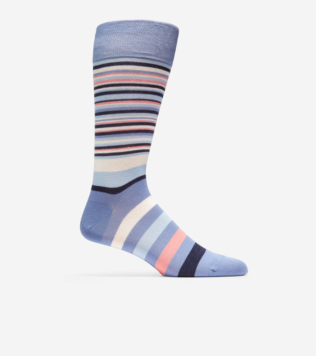 MENS Town Stripe Crew Socks
