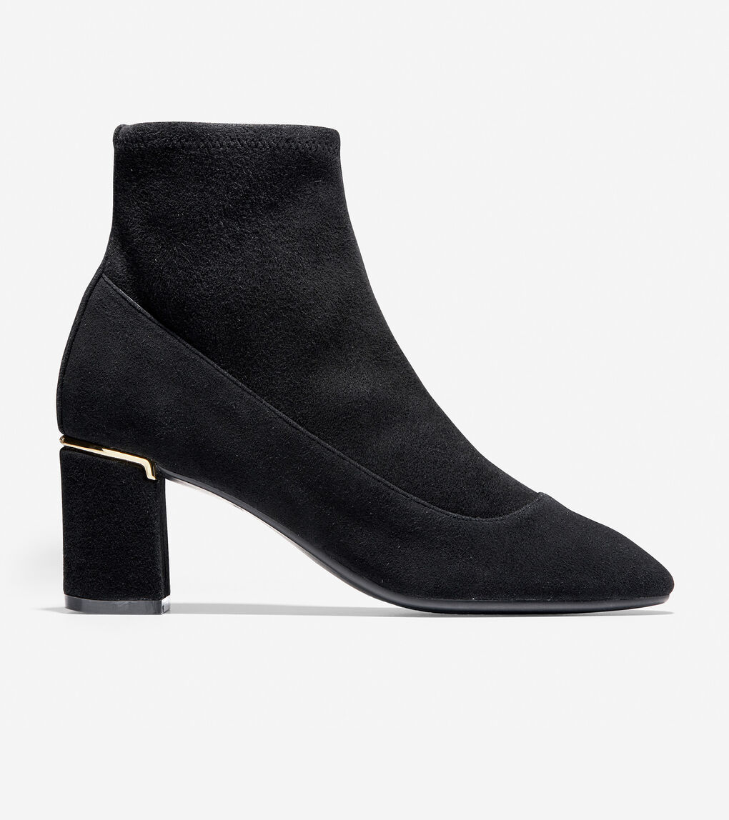 56a3c3882a4d9 Women's Laree Stretch Bootie (65mm) in Black | Cole Haan US