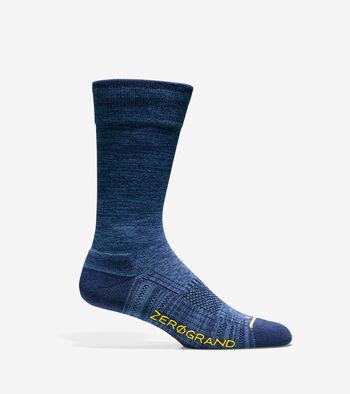 ZERØGRAND Flat Knit Crew Socks