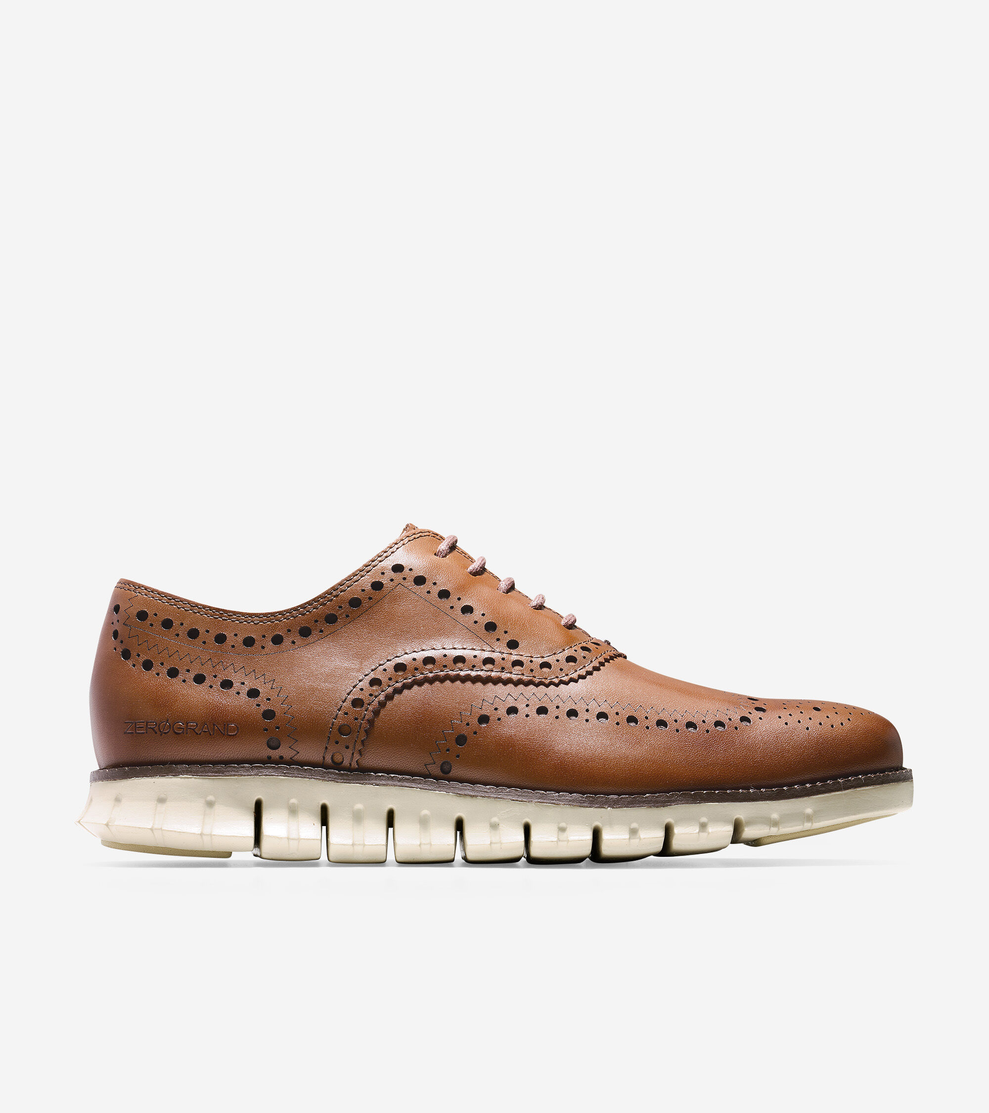 Orange Leather Tan Mens Shoes
