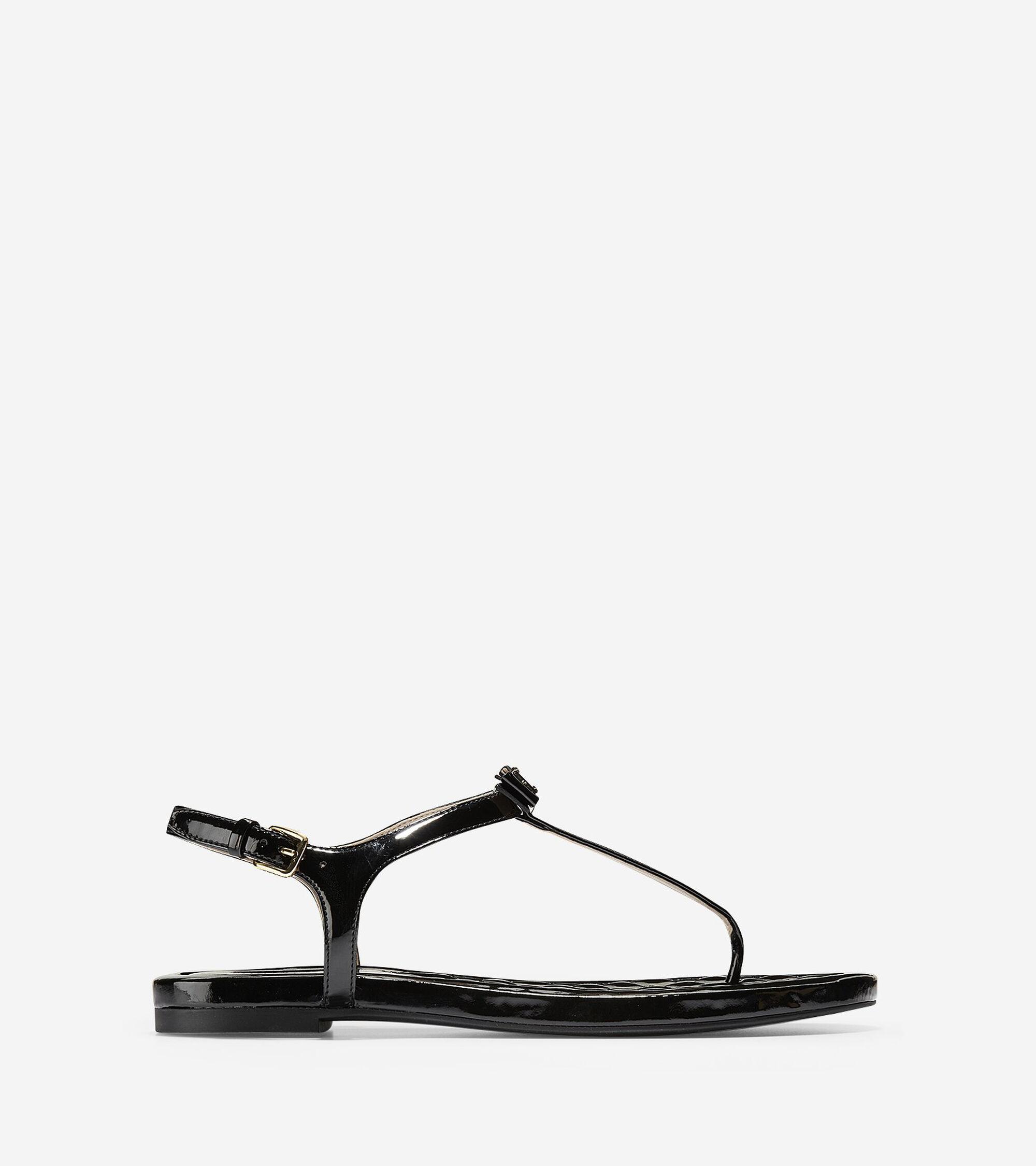 3d016eef3c6b5 Women s Tali Mini Bow Sandals in Black Patent