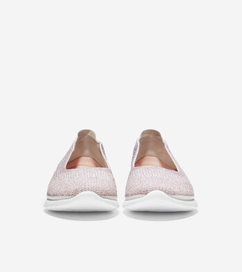 Women's 3.ZERØGRAND Ballet Flat with Stitchlite™
