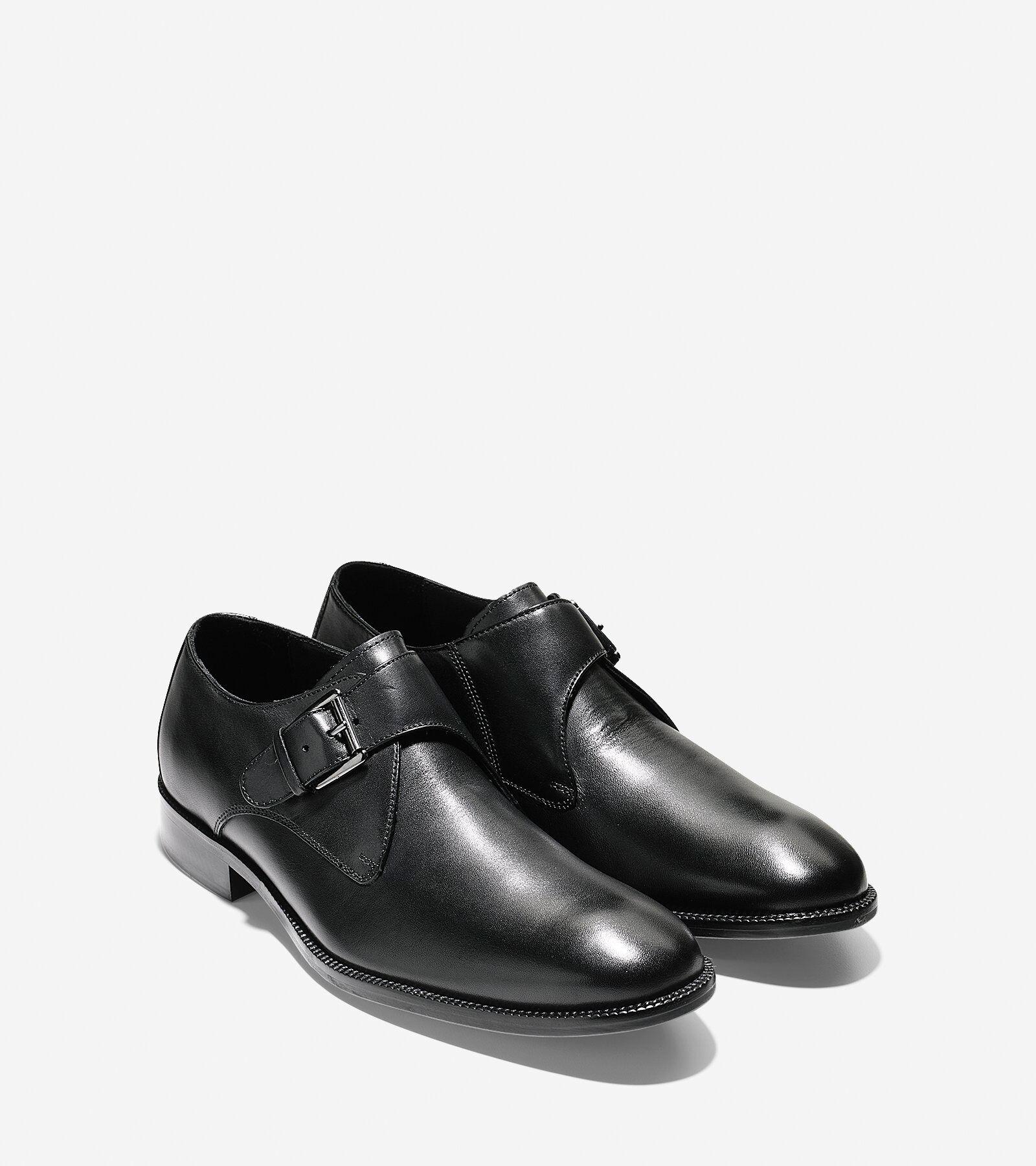 Williams Monk Strap Oxford in Black