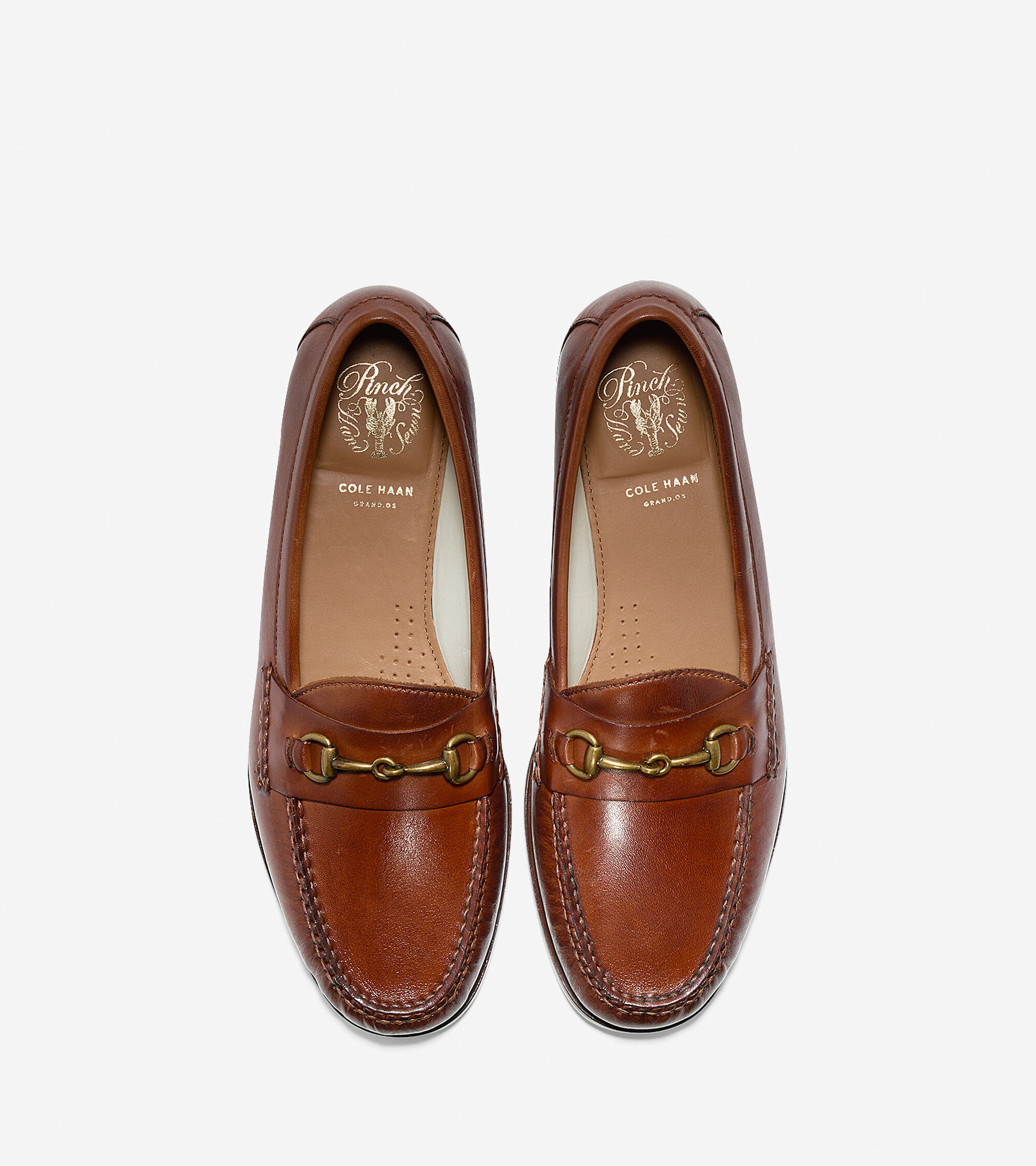 b0650473e54 Mens Pinch Grand Penny Bit Loafers in Papaya