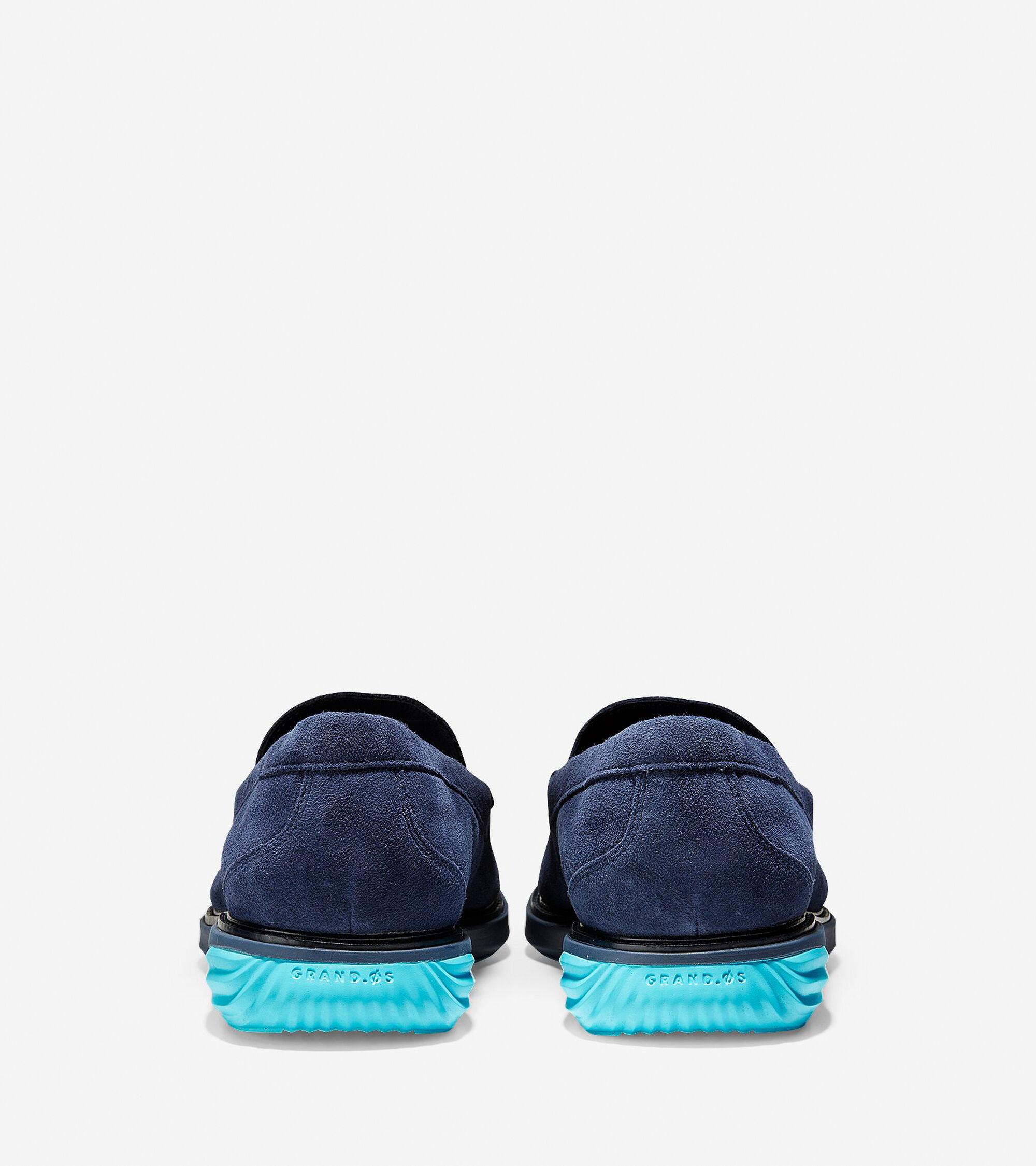 114eff6565d Men s GrandEvolution Venetian Loafers in Marine Blue