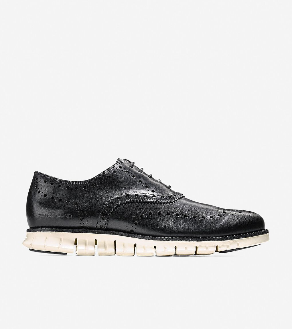 Mens ZERØGRAND Wingtip Oxford