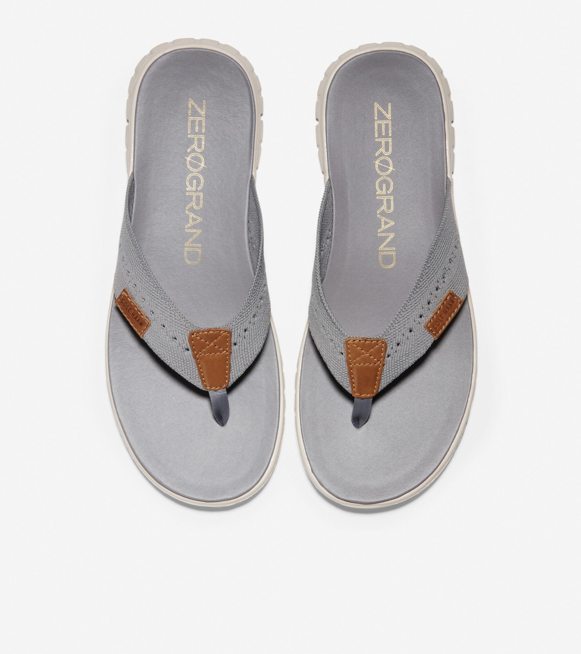 Thong Sandal in Ironstone Stitchlite
