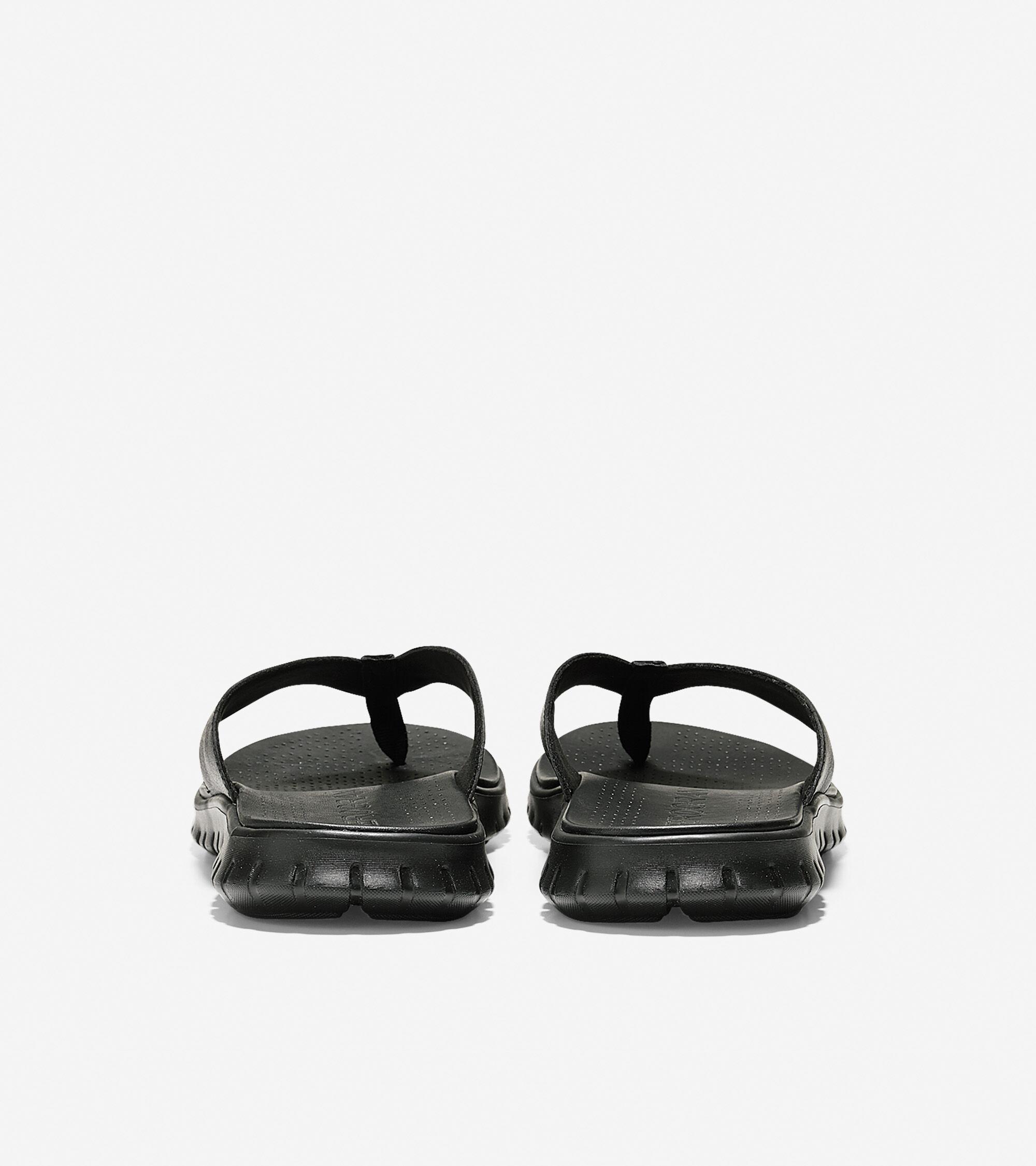525e5caac10 Men s ZEROGRAND Thong Sandals in Black
