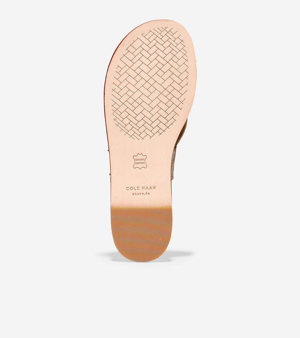 Womens Anica Scallop Thong Sandal