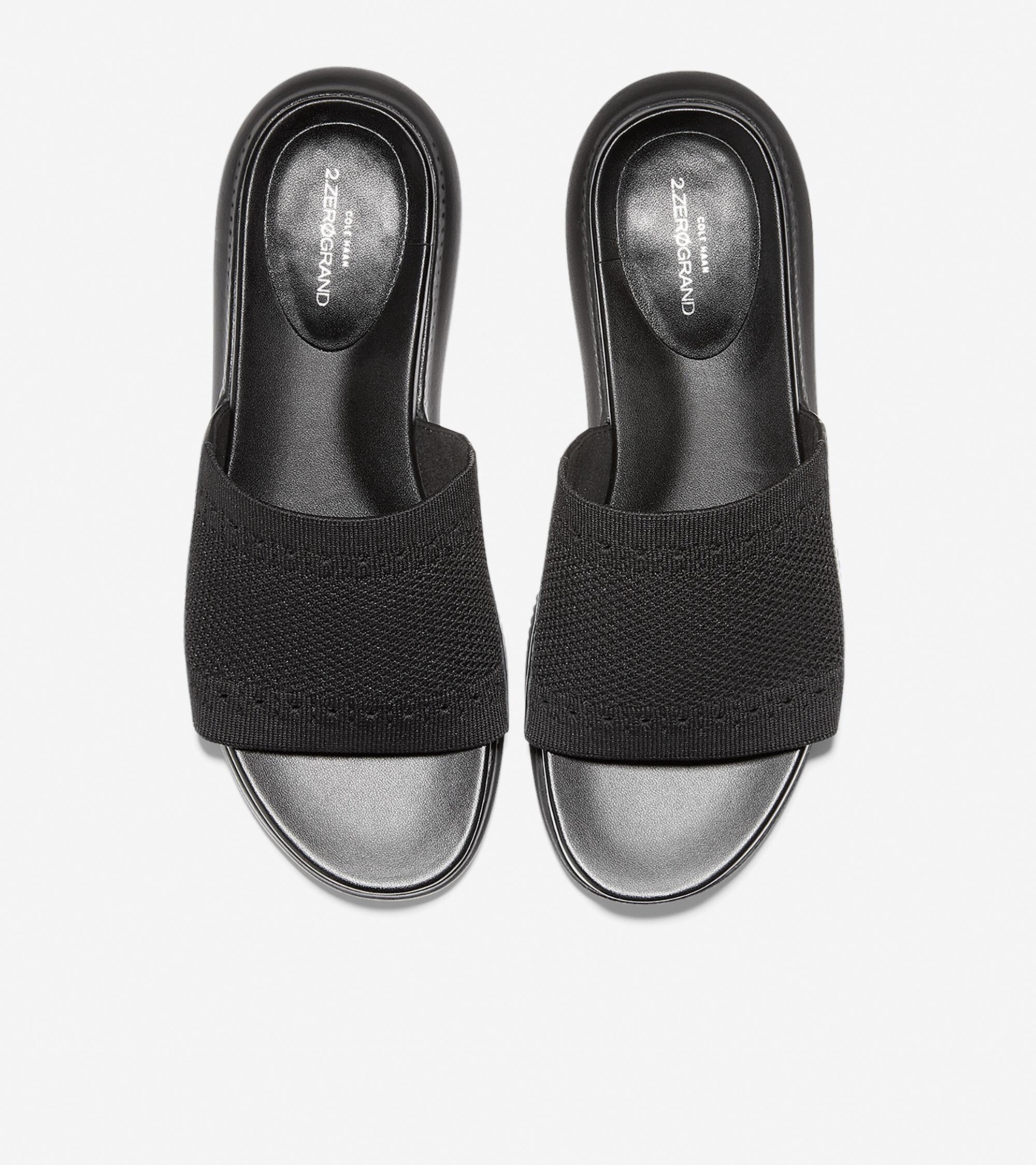 c6258203ef5 Women s 2.ZEROGRAND Stitchlite Slide Sandals in Black