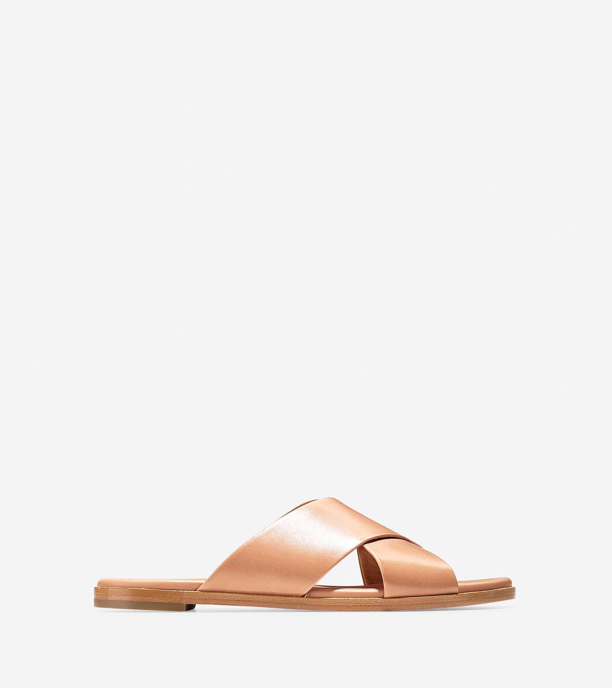 e62075f5994 Anica Criss Cross Sandals in Sahara Leather
