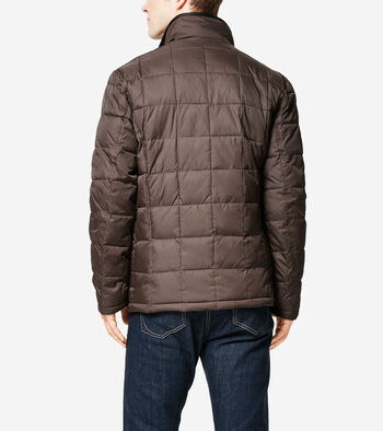 Signature Box Quilted Coat