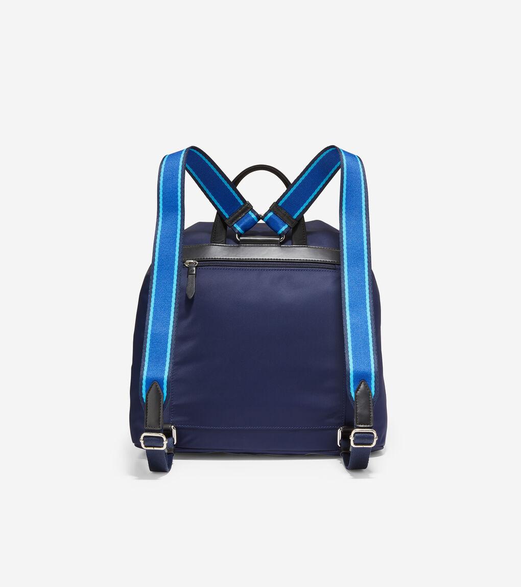 WOMENS Nylon Flap Backpack