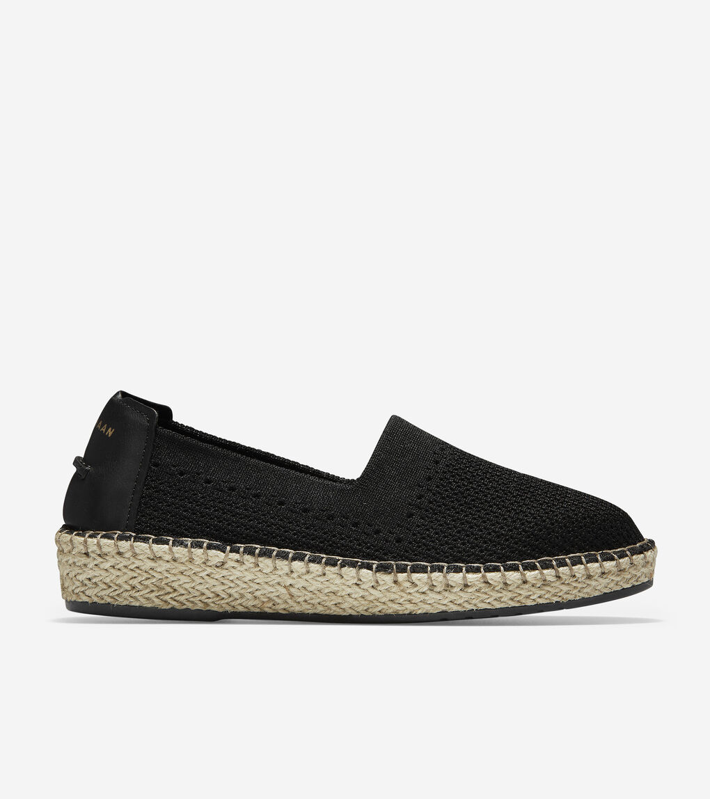 a16f3a65adade Women's Cloudfeel Espadrille in Black Stitchlite™ | Cole Haan US