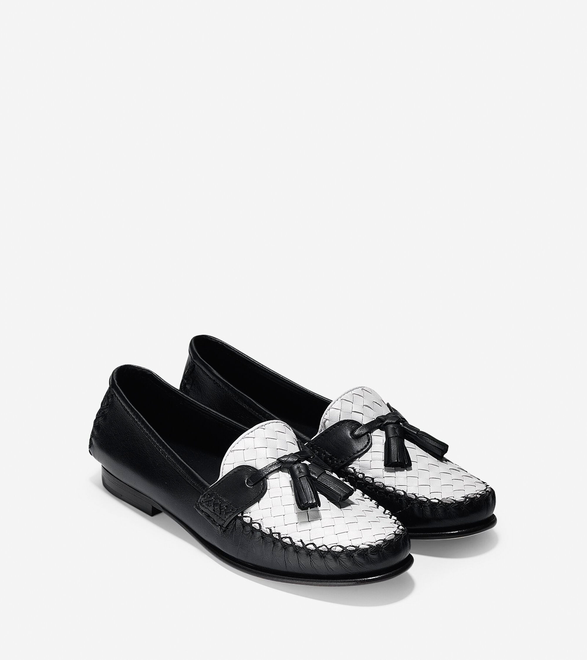 dfa8ae644fb Women s Jagger Soft Weave Loafers in Black-White