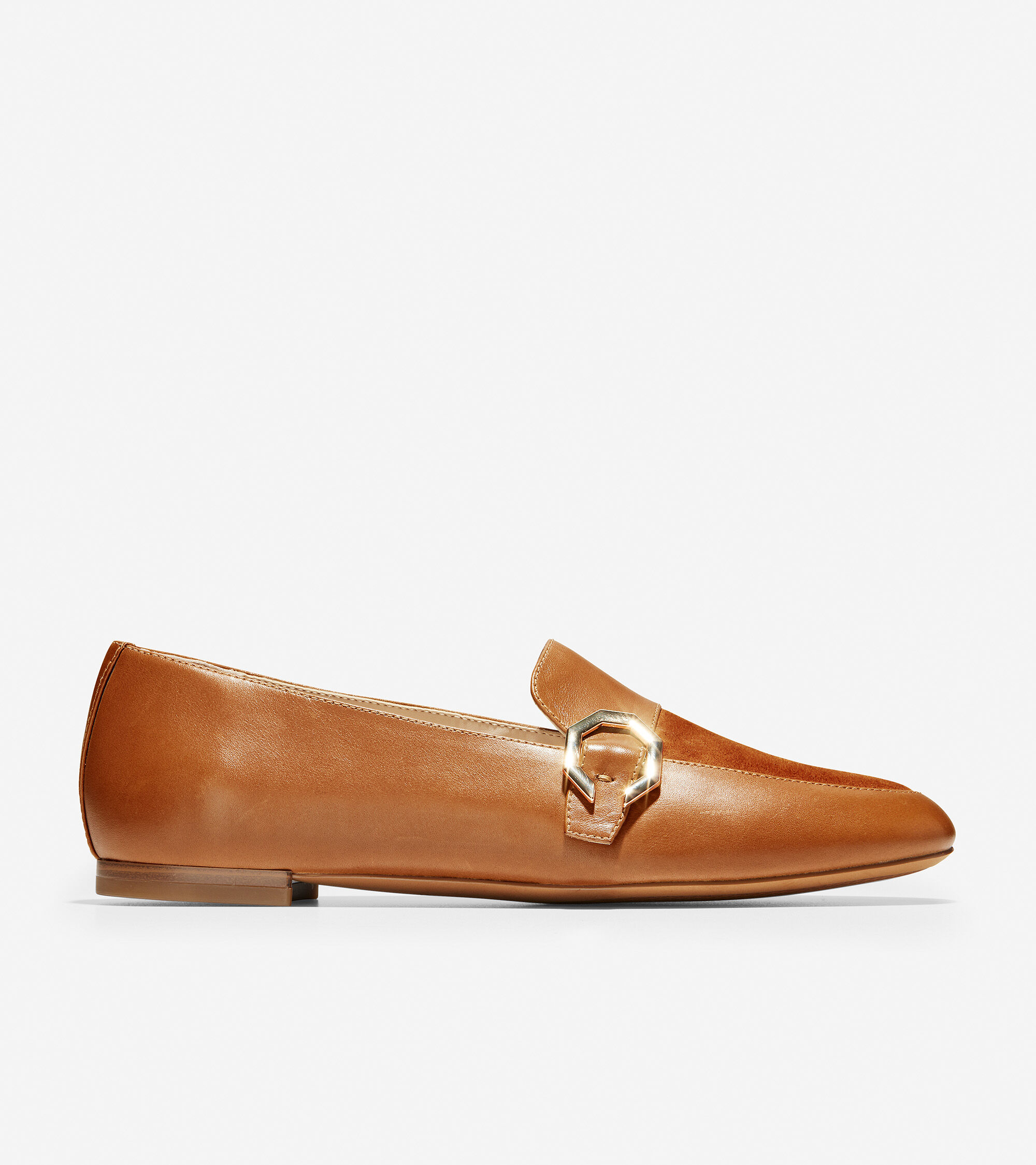 British Tan Leather-Suede   Cole Haan