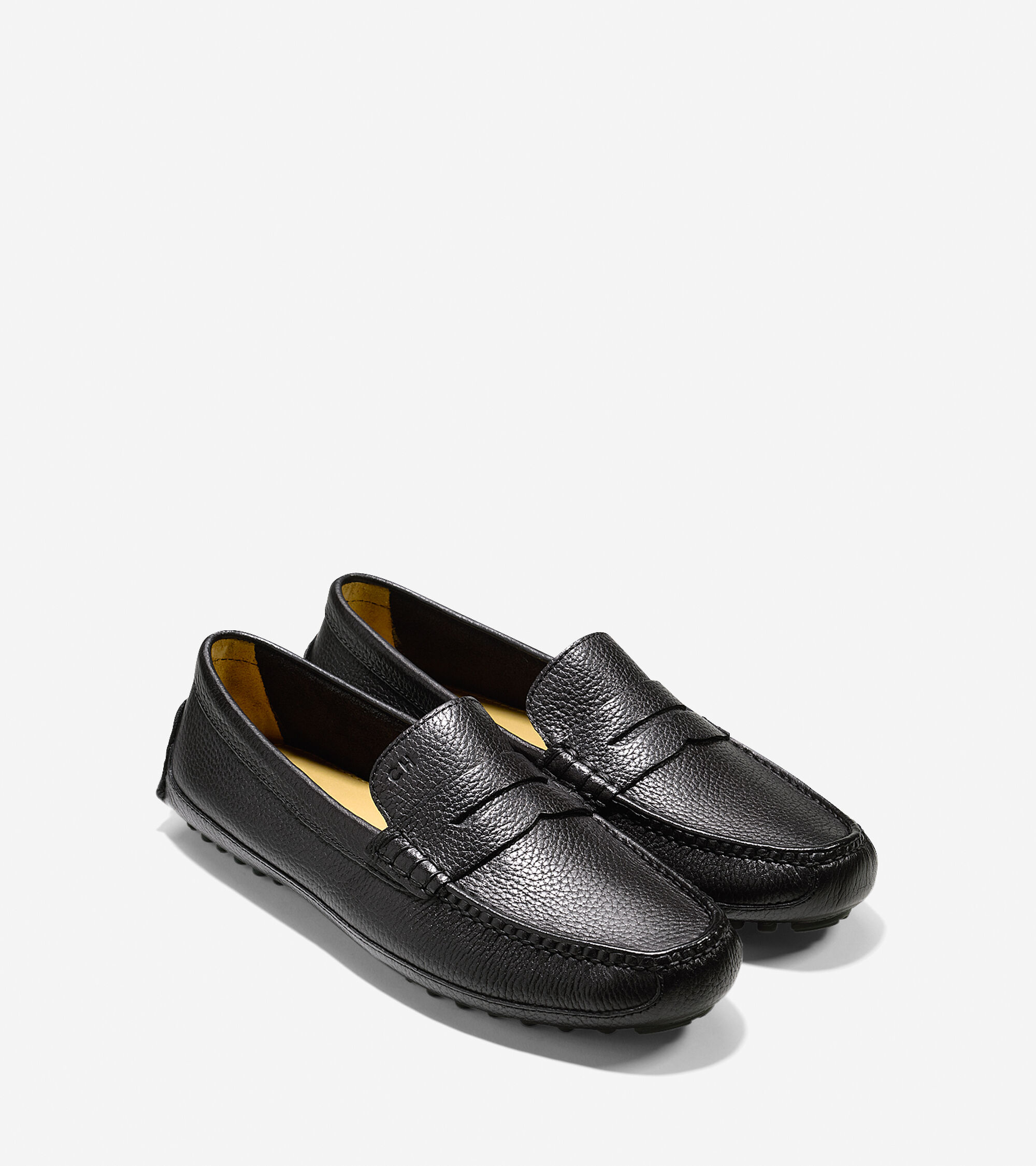 6e45bcd529c Grant Canoe Penny Loafers in Black   Mens Shoes