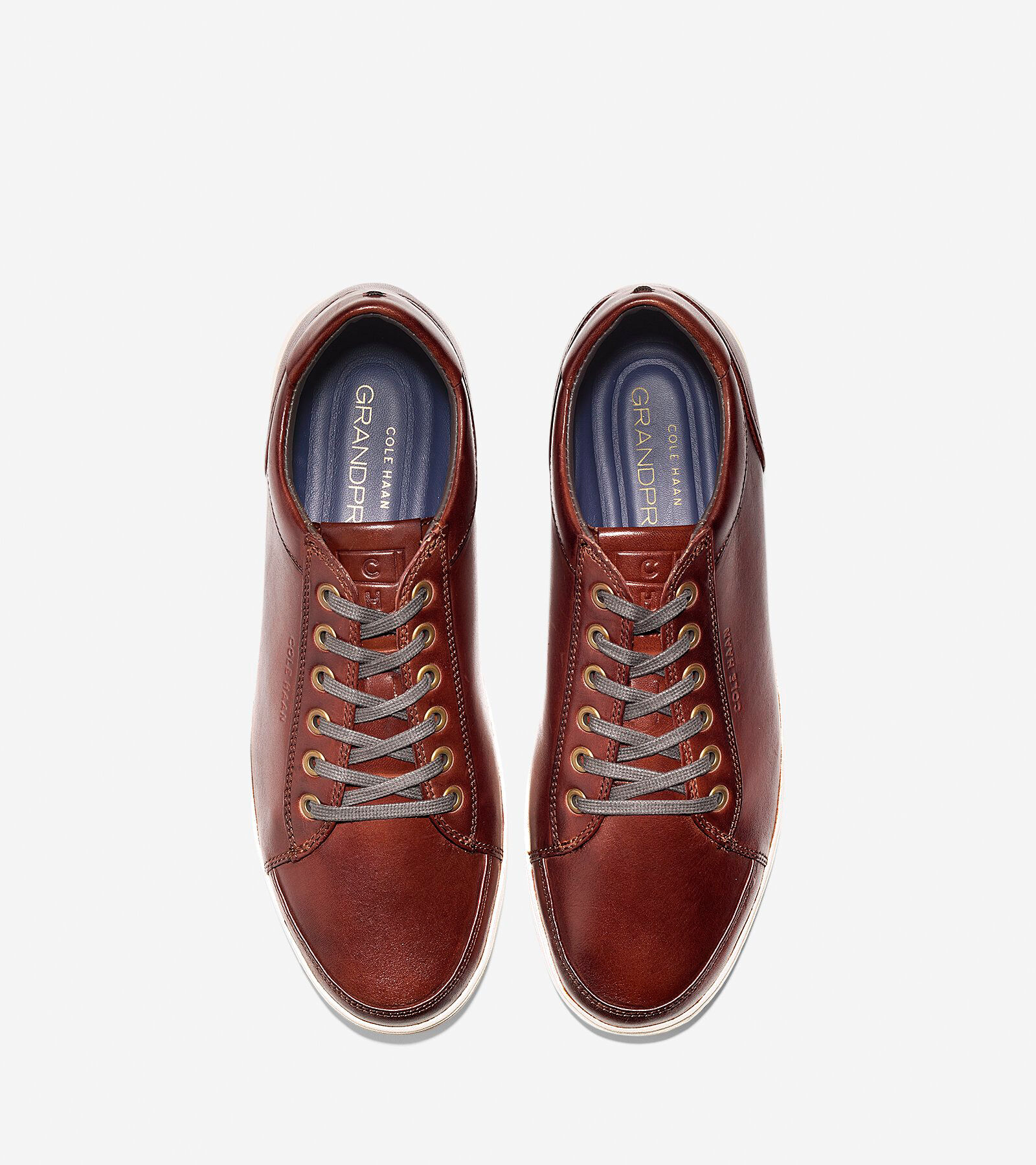 Spectator Sneaker in Woodbury Handstain