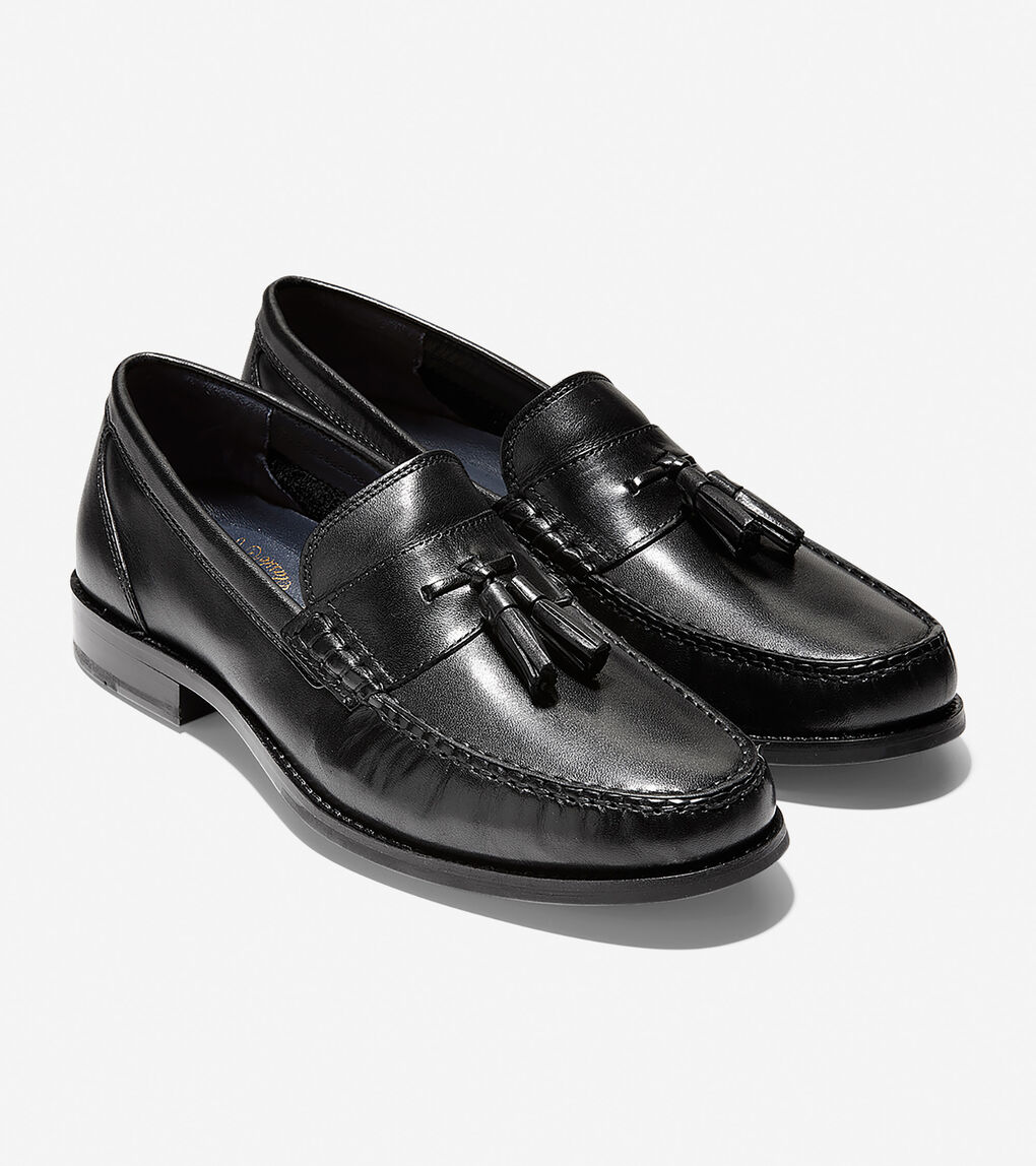 Men's Pinch Grand Classic Penny Loafer in Black | Cole Haan US