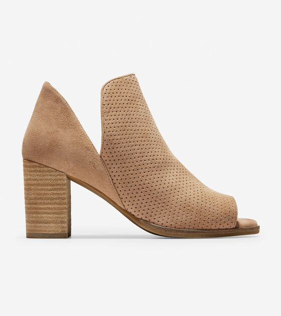 Boots & Booties > Shiloh Open Toe Bootie (75mm)