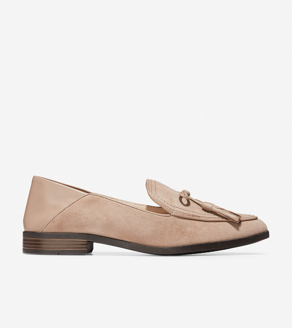 Womens Pinch Soft Tassel Loafer
