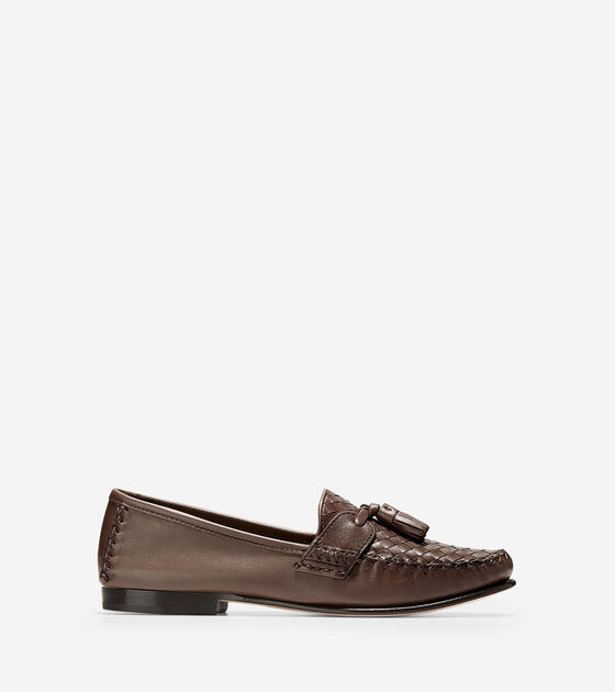 4dbaed6cff4 Women s Jagger Soft Weave Loafers in Harvest Brown