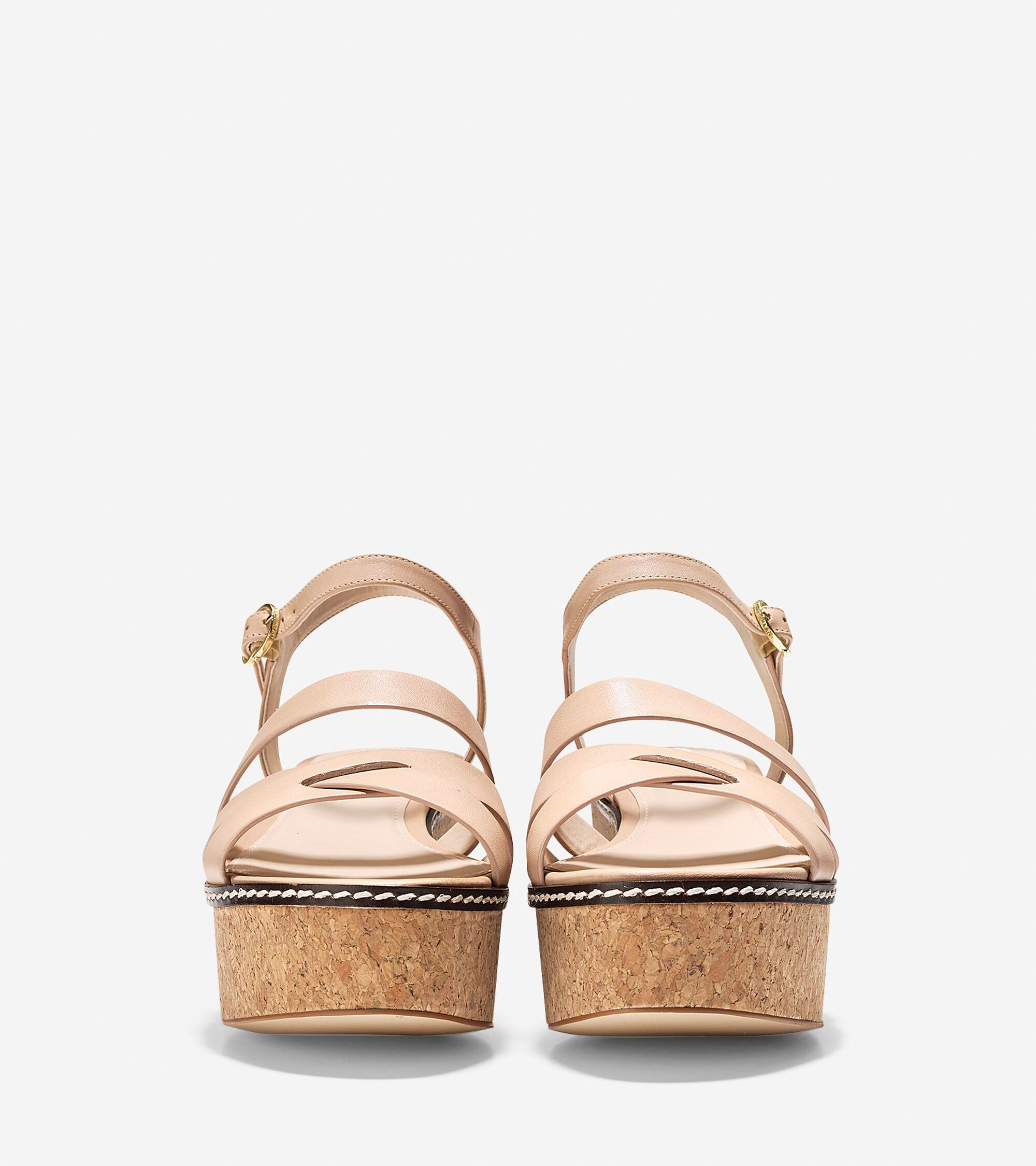 cf85ea25843d Jianna Wedge Sandals 55mm in Nude Cork