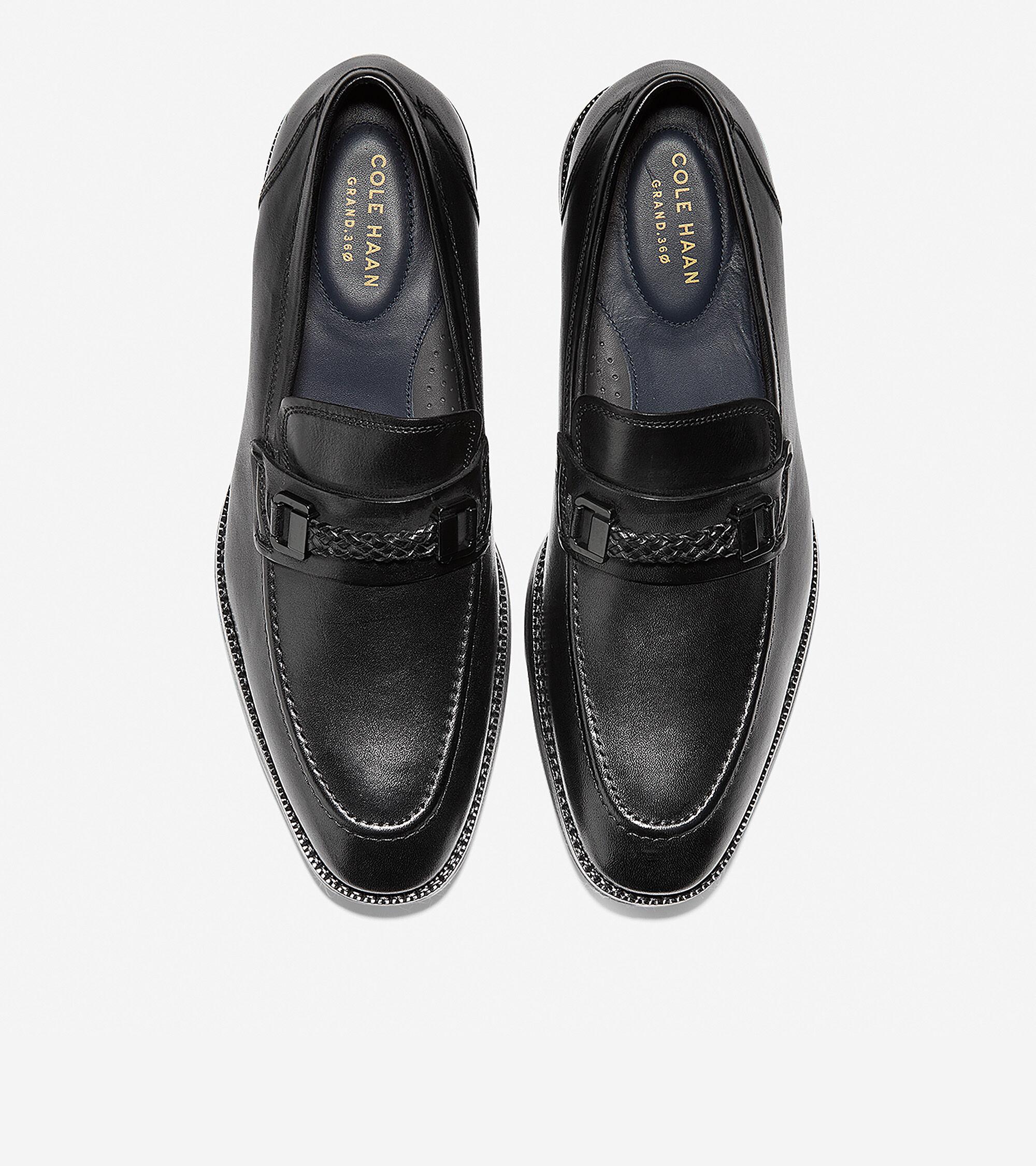 a0a9a30da9a Men s Warner Grand Bit Loafers in Black