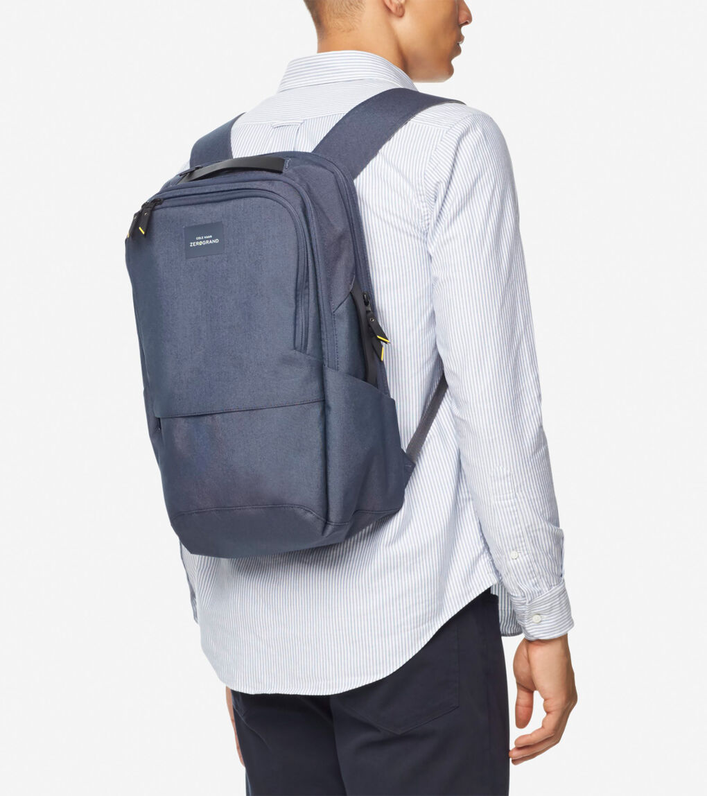 Mens ZERØGRAND City Backpack