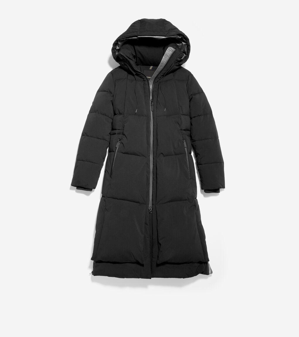 WOMENS ZERØGRAND Long Puffer Jacket