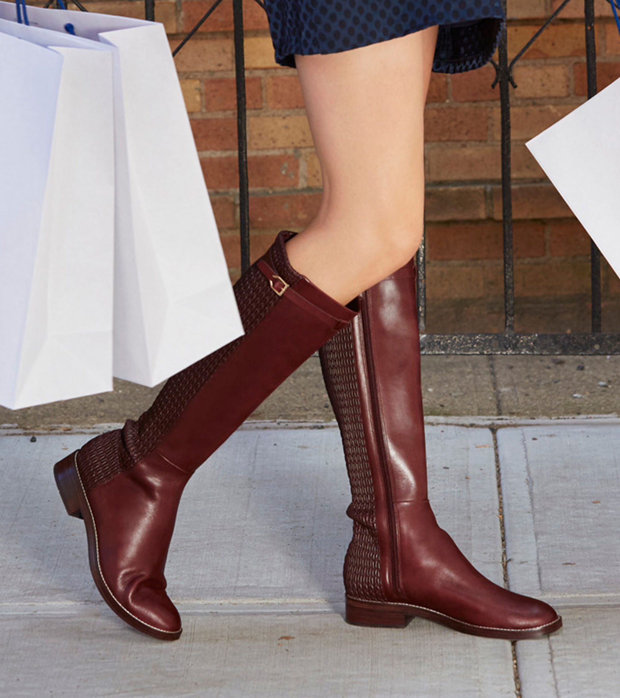 01be41b79d8 Women s Lexi Grand Stretch Strap Boots in Cordovan