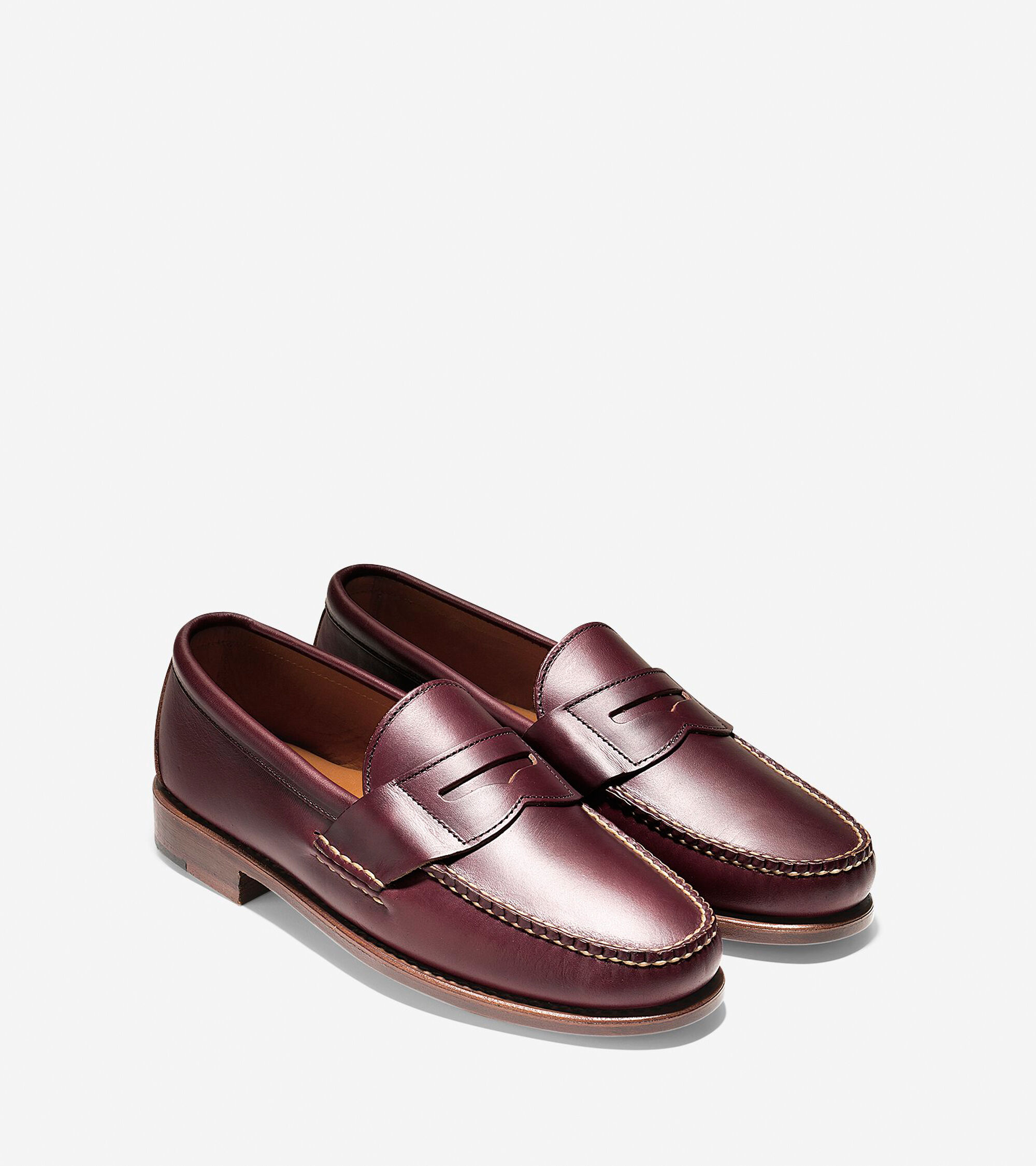 2165f7672c549f Men s Pinch USA Loafers in Burgundy