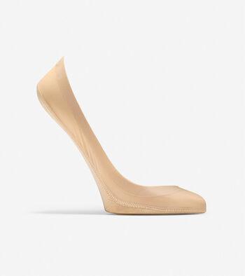 Grand.ØS Lazer Cut Memory Foam No-Show Socks