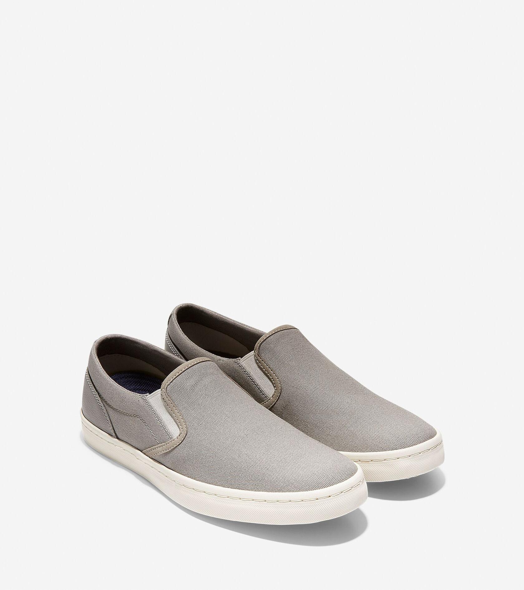 Cole Haan Mens Nantucket Deck Slip-On Sneaker