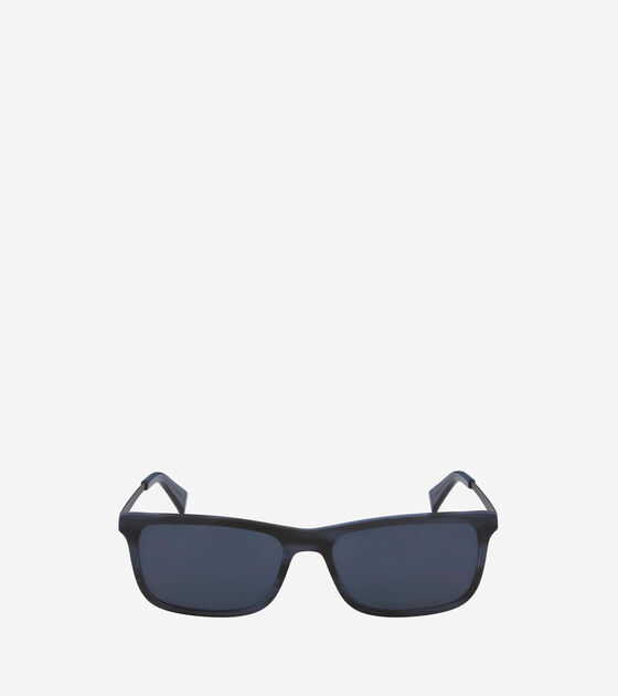 Sunglasses > Acetate Metal Rectangle Sunglasses
