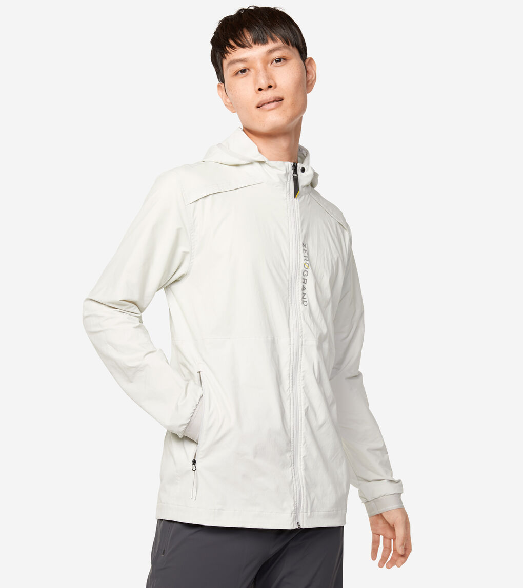 MENS ZERØGRAND Packable Running Jacket
