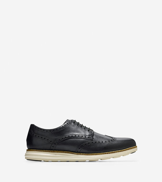 f30b8f2be583f Original Grand Wingtip Oxfords in Black-White