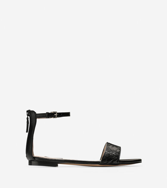 All Sale Shoes > Genevieve Weave Flat Sandal
