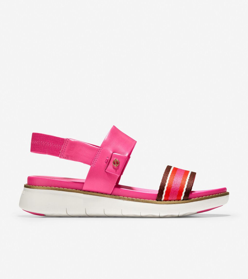 WOMENS ZERØGRAND Global Double Band Sandal