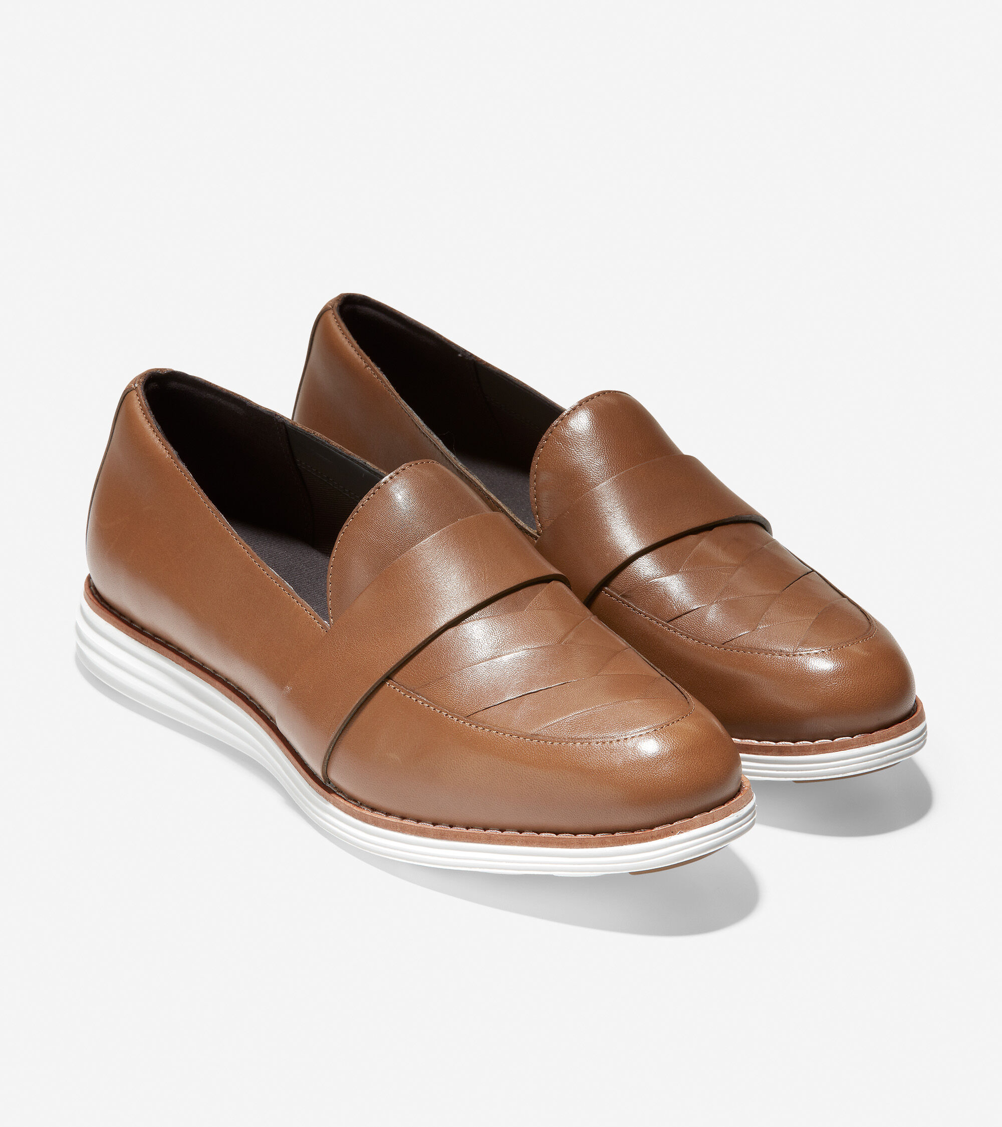 Loafer in Hazelnut Leather   Cole Haan