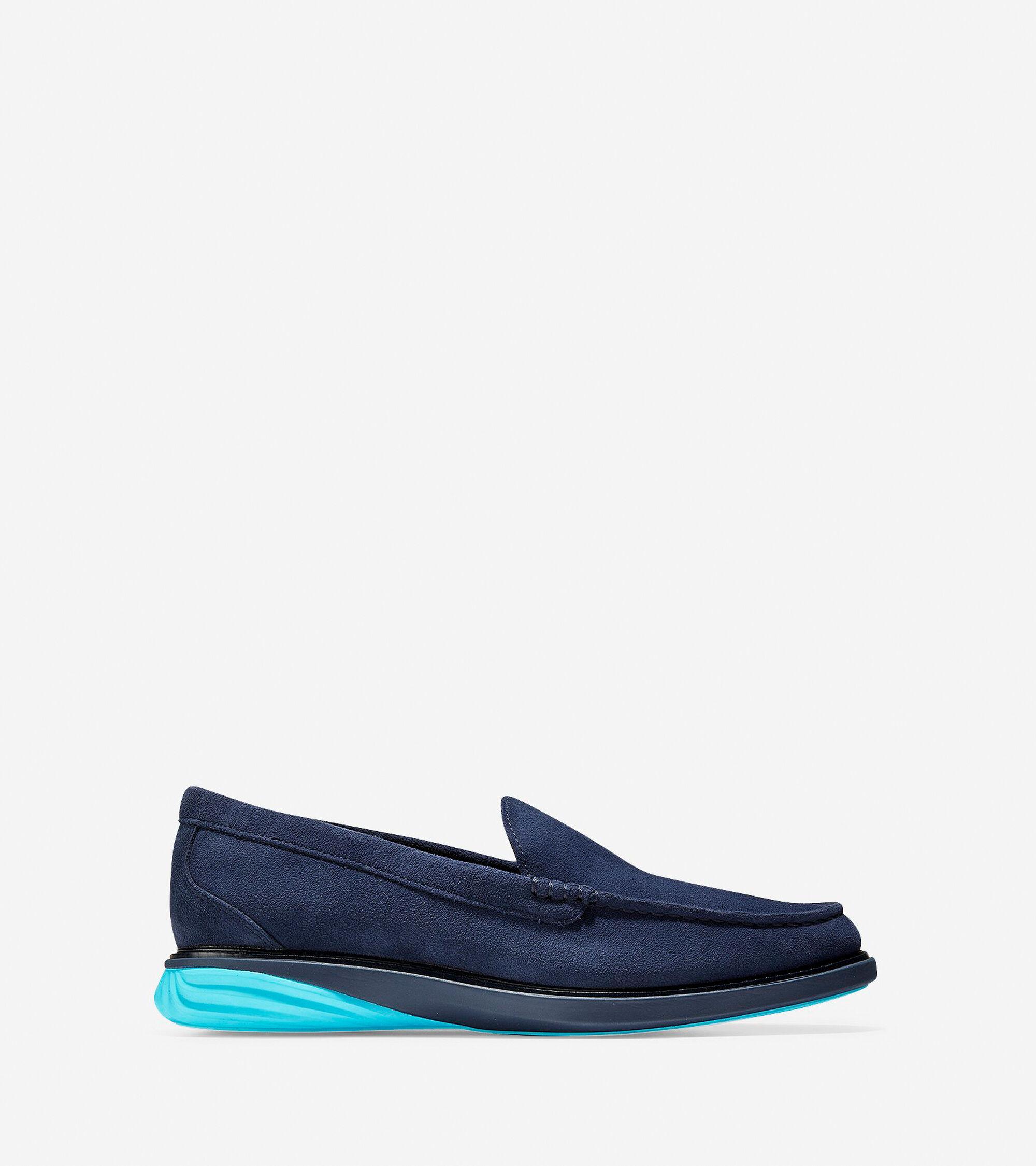 7aaa6c9962c Men s GrandEvolution Venetian Loafers in Marine Blue
