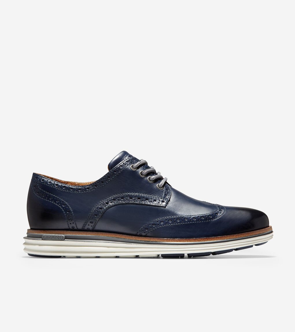 MENS ØriginalGrand Lux Wingtip Oxford