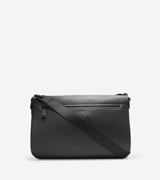 Bags > Grand.ØS Leather Messenger Bag