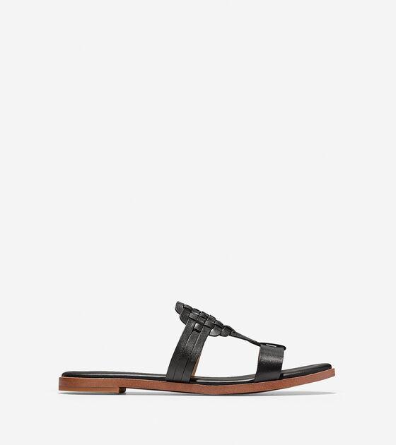 Shoes > Findra Woven Slide Sandal