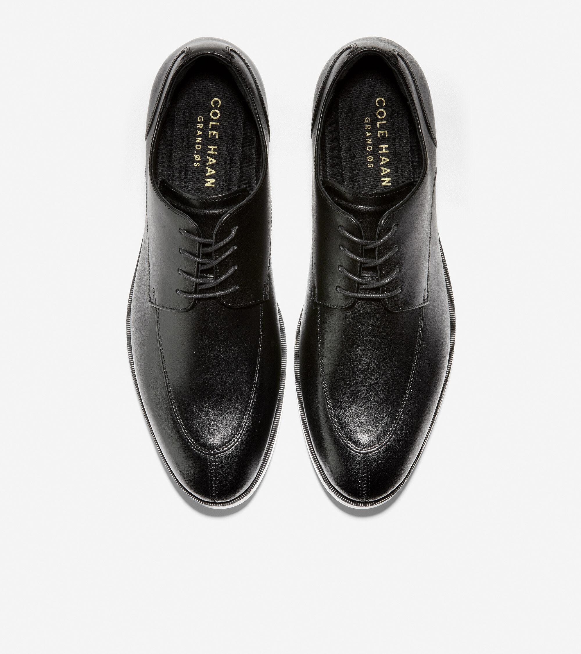 Henry Grand Split Toe Oxford in Black