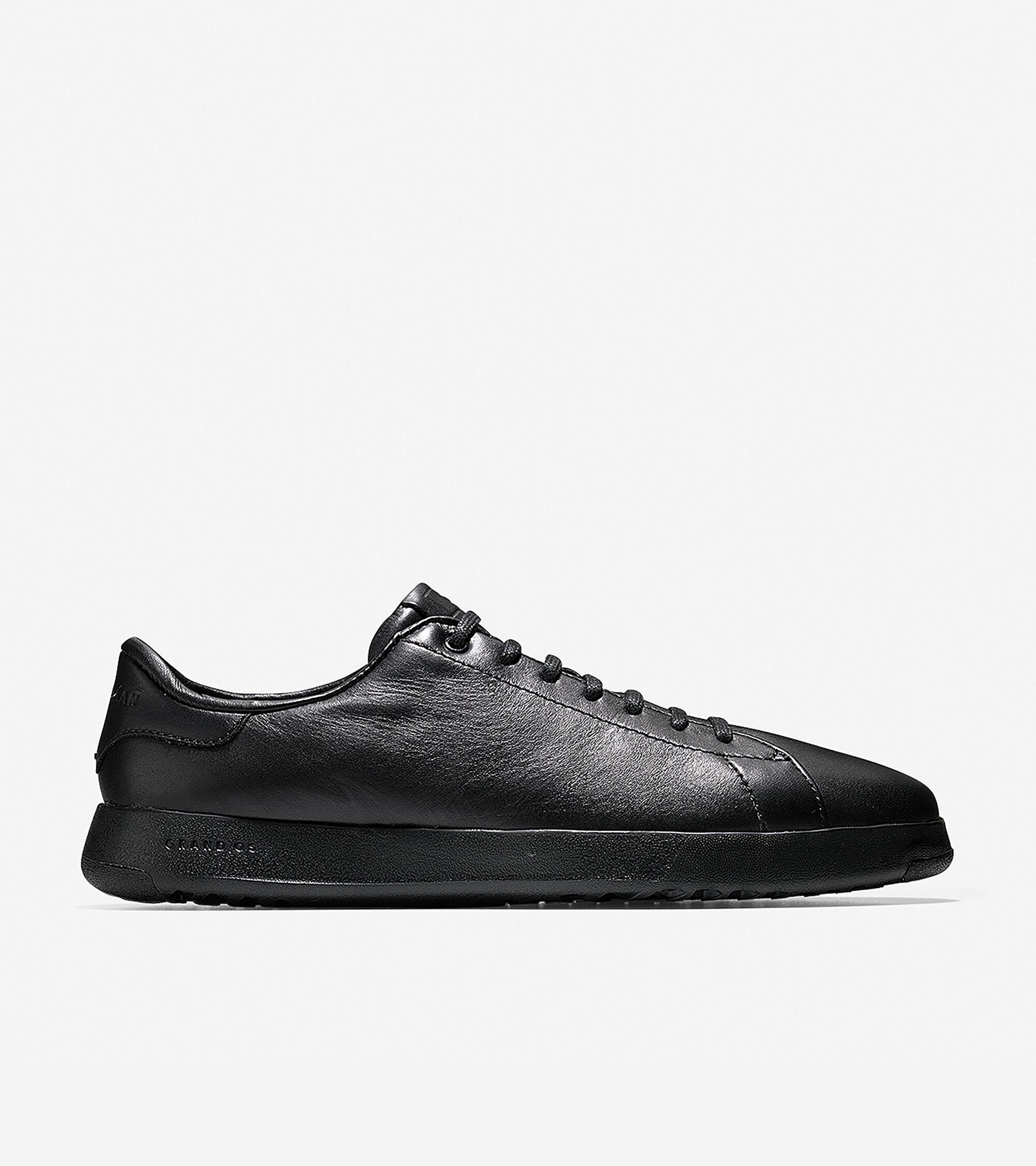 Men's GrandPrø Tennis Sneaker in Black