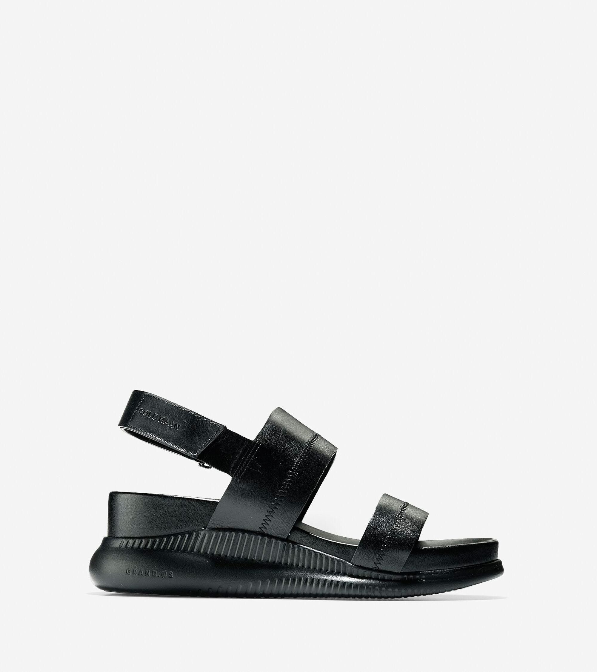 ec169777a Cole Haan Women s 2.ZERØGRAND Slide Sandal (30mm) in Black-black   ColeHaan .com